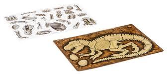 Купить <b>BONDIBON Наклейка</b>-<b>пазл</b> Тиранозавр (ВВ2865) по ...