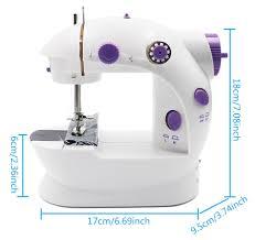 Electric <b>Mini</b> Desktop Sewing Machine <b>Multifunction</b> DIY Household ...