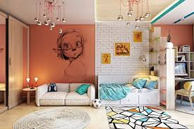 Clever Kids Room Wall Decor Ideas  Inspiration - Bedroom wall murals ideas