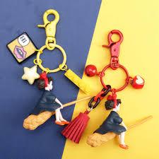 2 Pcs <b>Cartoon Couple Keychain Cute</b> Bowknot Teeth Tooth Key ...
