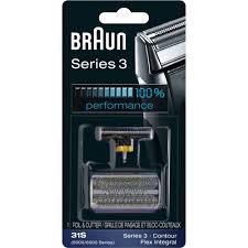 <b>Braun Series 3 31</b> S Foil and Cutter Replacement Head - Walmart ...