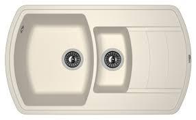 Врезная <b>кухонная мойка FLORENTINA Нире</b>-860К 86х51см ...
