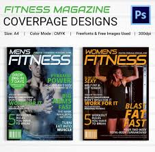 magazine cover psd template 31 psd ai vector eps format fitness magazine cover page design
