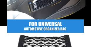 New <b>Car</b> Storage Net <b>Automotive</b> Pocket Organizer Bag For Mobile ...