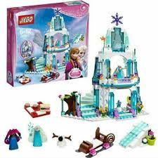 <b>Dream Princess Castle Elsa</b> Ice Castle Princess Anna Set Model ...