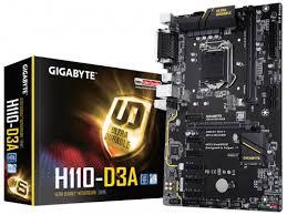 Купить <b>материнскую плату Gigabyte GA-H110-D3A</b> (rev. 1.0) (ATX ...