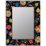 <b>Настенное зеркало Дом</b> Корлеоне Цветочный фейерверк 90x90 ...