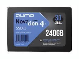 <b>Твердотельный накопитель Qumo</b> Novation TLC 3D 240Gb Q3DT ...