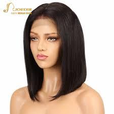 <b>Joedir</b> Short <b>Bob</b> Wig Remy <b>Lace</b> Front Human <b>Hair</b> Wigs For Black ...