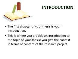 CHAPTER I Introduction andBackground of the Study      SlideShare
