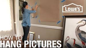 Hang <b>Pictures</b> on a <b>Wall</b>