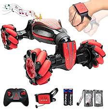 Buy vezol® rc <b>stunt car</b>, 4wd <b>2.4g</b>, remote control gesture sensor toy ...