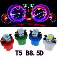 Online Shop <b>10Pcs</b> B8.5D 509T B8.5 5050 Led 1 <b>SMD T5</b> Lamp Car ...