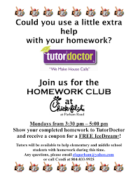 Homework help flyer   Alabama public library live homework help For homework  help with directions and answer questions but allow your child to work as independently as possible  as children learn when they think for