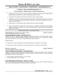 sales manager resume account management resume exampl sample sample resume sales manager