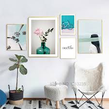 <b>Coconut</b> Tree <b>Nordic Poster</b> Flowers Wall Pictures For Living Room ...