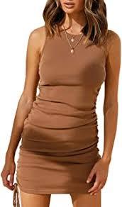 ruched bodycon dress - Amazon.com