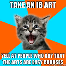 fuck yeah international baccalaureate kitten via Relatably.com