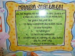 this file will help you to guide your students in writing their classroom mission statement