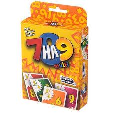 """<b>Настольная игра</b> """"<b>7</b> на 9 Multi"""" – купить по цене 450 руб. в ..."""