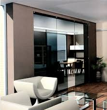exquisite sliding room dividers black glass design as divider living areas with dining room also white awesome divider office room