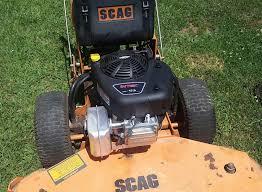 repower your scag exmark toro lesco walk behind mower a new repower scag exmark