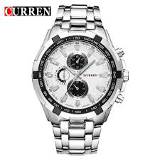 <b>CURREN</b> 8023 Men'S Fashion <b>Simple</b> Stainless Steel Strap Quartz ...
