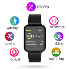Online Shop B57 Women <b>Men</b> Smart Watch Waterproof Sports ...