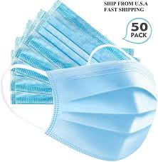 <b>50pcs Disposable non-woven</b> face mask(General use) - Walmart ...