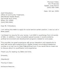 social work cover letter examplessocial work cover letters
