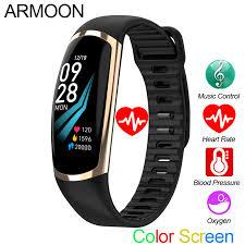 <b>Smart Bracelet R16</b> Android IOS Heart Rate Band Sleep Monitor ...