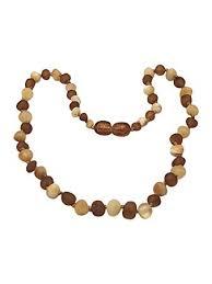 Raw Baltic Amber Teething Necklace By UMAI - Pain ... - Amazon.com