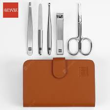 <b>Huohou Nail Clipper</b> Stainless Nose Hair Trimmer <b>Kit Nail Cutter</b> ...