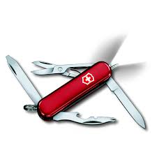<b>Нож</b>-<b>брелок</b> Victorinox <b>Midnight Manager</b>, красный купить по ...