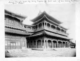 robert henry chandless photographs  lama temple