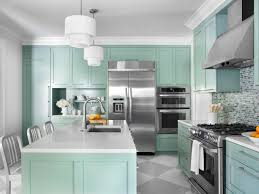 painted blue kitchen cabinets house: color ideas for painting kitchen cabinets hgtv pictures hgtv