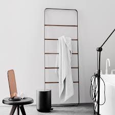 free standing hand towel rack satin modern towel ladder stands for bathroom