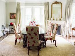 Fun Dining Room Chairs Ideas Awesome Red Tulips Patterns Fabric Upholstered Dining Chairs