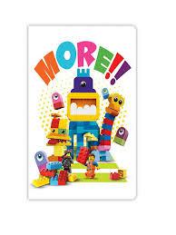 Книга для записей <b>96</b> листов, в линейку <b>LEGO</b> Movie 2- Duplo ...