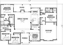 Bedroom Story House Plans   VAline Bedroom Single Story House Plans