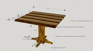 dining table woodworkers:  dining table see picture enter image description here