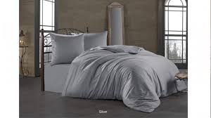 ROZETKA | <b>Постельный комплект Bahar</b> Tekstil Class Silver сатин ...
