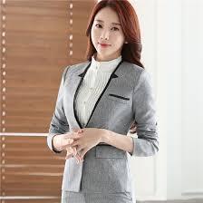 Shop Career long sleeve plus size women <b>blazer</b> New OL formal ...