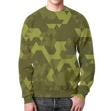 """Свитшот мужской с полной запечаткой """"Military"""" #2649948 от ..."""