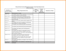 job requirements template ledger paper iam requirements matrix template by gpo job requirements