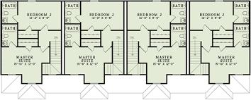 Unit Multi Family Home Plan   ND   nd Floor Master Suite    Floor Plan