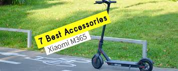7 Best <b>Accessories for Xiaomi</b> M365 Electric Scooter That You ...