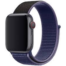 Купить <b>Apple</b> Watch цвет <b>ремешка</b>: темно-синий в интернет ...