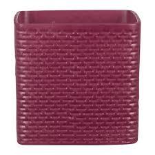 <b>кашпо керамическое</b> Burgundy 985 d 15 см - Чижик