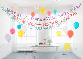 DIY <b>Happy Birthday Banners</b> - The House That Lars Built